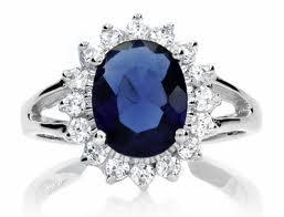 Diana sapphire ring
