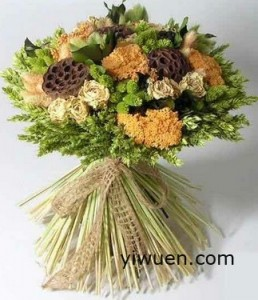 Dried flower sticks