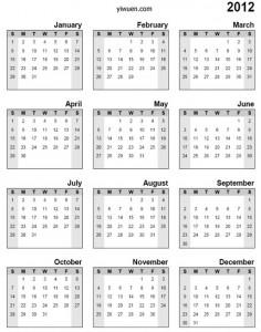 Yiwu calendar