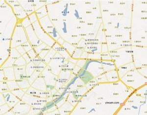 Yiwu city map