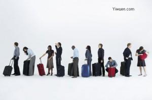 Yiwu suitcase