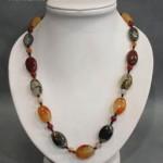 Yiwu rhinestone necklace