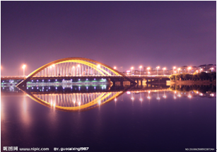 yiwu night scene photo